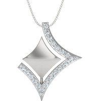 Arizona Gold and Diamond Pendant