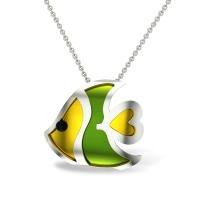 Ayleen Fish Gold Pendant