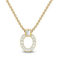 Ayushi 18kt Gold & Diamond Pendant