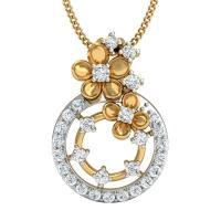 Babita Gold and Diamond Pendant