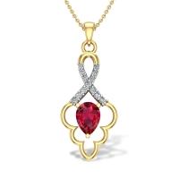 Bartha Diamond Pendant