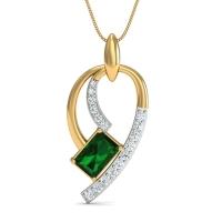Beatrice Gold and Diamond Pendant