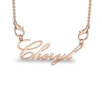 Bheryl Rose Gold Pendant