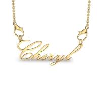 Bheryl Yellow Gold Pendant