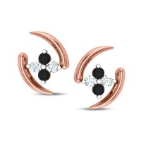 Delaney Black Diamond Earring