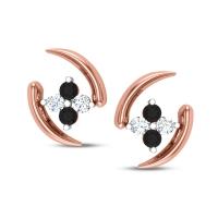 Delaney Black Diamond Earring