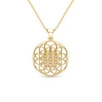 Dixie Gold Pendant
