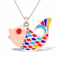 Edie Fish Gold Pendant