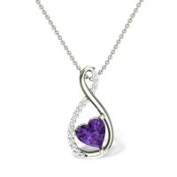 Elaina Diamond Pendant