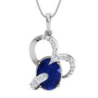 Eleanor Gold and Diamond Pendant