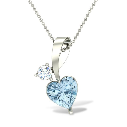 Catherine Diamond Pendant