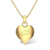 Blossoming Mom Gold Pendant