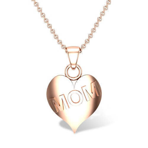 Beautiful Gold Pendant For Mom