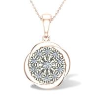 Fannie Diamond Pendant