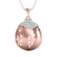 Chanda Gold and Diamond Pendant