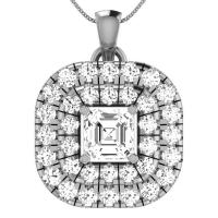 925 Sterling Silver Designer Freya Pendant