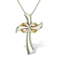 Giana Jesus  Diamond Pendant