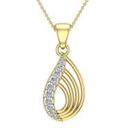 Gwynne Diamond Pendant