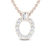 Helen 18kt Gold and Diamond Pendant