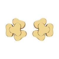 Himashi Gold Stud Earring