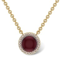 Jyotshi 18kt Gold and Diamond Pendant