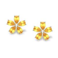 Kash Gold Earrings