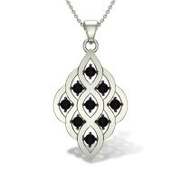Kylie Diamond Pendant