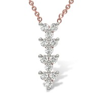 Mikaela 18kt Gold & Diamond Pendant
