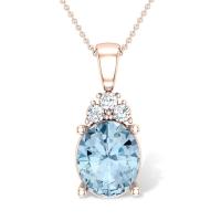 Leia Diamond Pendant