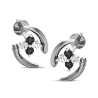 Lia Black Diamond Earring