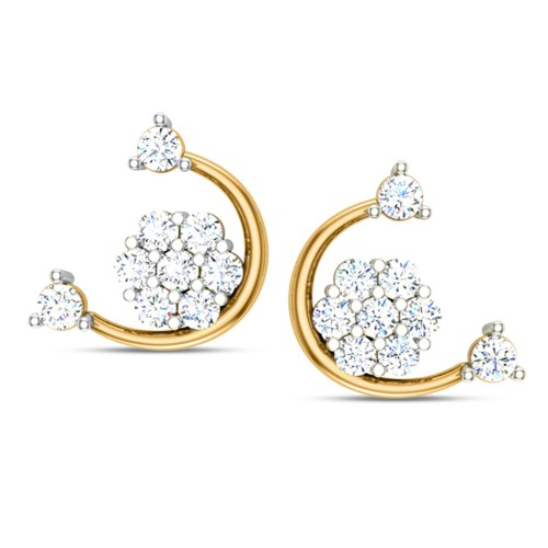 Thea Diamond Earring