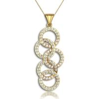 Loop Diamond Pendant