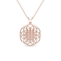 Maia Gold Pendant