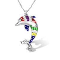 Maizie Dolphin Diamond Pendant