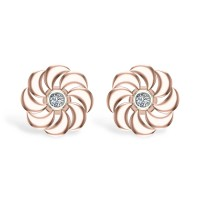 Amalia Diamond Studs