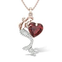 Mermaid Diamond Pendant