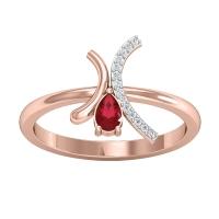 Mikaela Diamond Ring