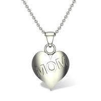 Mom Heart Gold Pendant