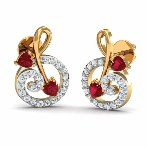 Roxanne Diamond Earrings