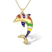Nataly Dolphin Diamond Pendant