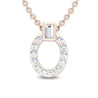 Helen 18kt Gold & Diamond Pendant