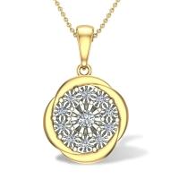 Novella Diamond Pendant