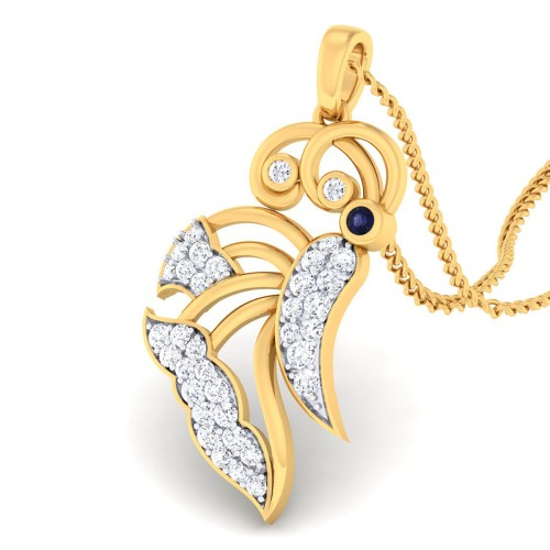 Oli Butterfly Diamond pendant
