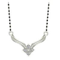 Perline Diamond Mangalsutra