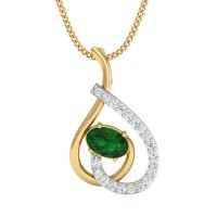 Pinki Gold and Diamond Pendant