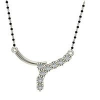 Pricila Diamond Mangalsutra