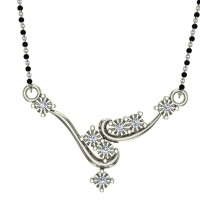 Prisila Diamond Mangalsutra