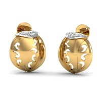 Rajeshri Gold Diamond Earrings