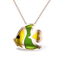 Raylen Fish Gold Pendant