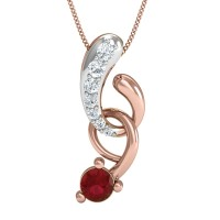 Reshma Gold and Diamond Pendant
